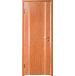 Светло-коричневая, красноватая межкомнатная дверь Дера Черешня Шпон