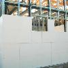 План-схема дома с обозначением строительных материалов.