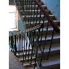 Металлические стальные сварные ограждения железобетонных лестниц жилых и общественных зданий