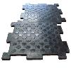 Резиновое напольное покрытие для снижения шума возникающего при погрузочно-разгрузочных работах.