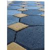 Тротуарная плитка «Шестигранник», бордюры и мощение.
