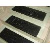 Накладка на ступени лестницы из резины антискользящей фактурой Зерно