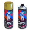 Аэрозольная краска-эмаль акриловая эффект металлик 520 мл / Серебряная