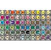 Маркеры для скетчей дизайна рисования Potentate Box на водной основе. Набор из 60 цветов.