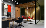 Лаконичная геометрия: NAYADA оформила небольшие офис-апартаменты