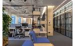 Офис «Яндекс» от NAYADA: лаконичность,  графичность,  неопластицизм