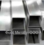 ТРУБА нержавеющая квадратная, зеркальная 15х15х1.5х6000 мм