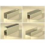 Алюминиевый профиль для сантехнических кабин