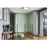 Радиусные и прямые распашные беспрофильные шкафы Radius-Line – горячий тренд в мире мебели