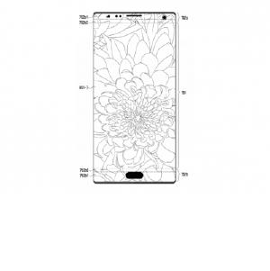 Samsung предложила делать отверстия для камеры и датчиков прямо в экране смартфона