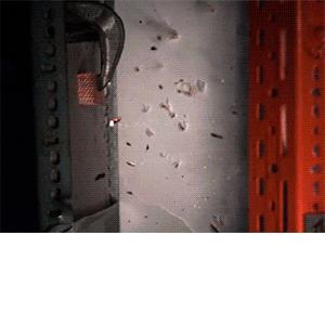 Пенометалл оказался устойчивым к взрыву и осколкам