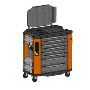 Тележка инструментальная серии Toollbox TBS премиум класса