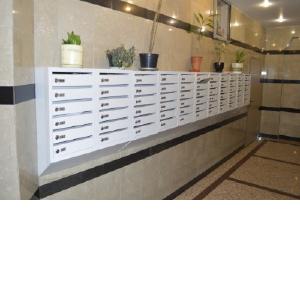 Поступление на склад металлических почтовых ящиков для подъезда серии ПЯ