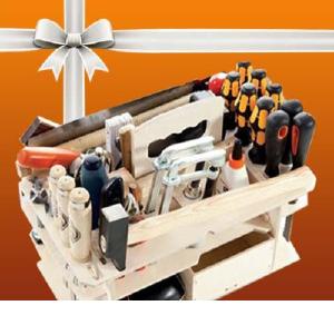 Нужные инструменты в подарок