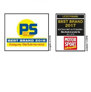 Лучший бренд среди любителей автоспорта.