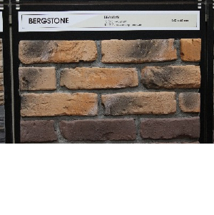 Расширяем ассортимент. Декоративный камень и плитка под кирпич Bergstone.