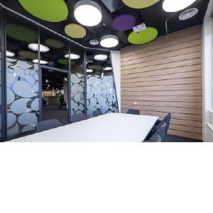 Продукция NAYADA в дизайне украинского офиса: легкость, комфорт, полет фантазии