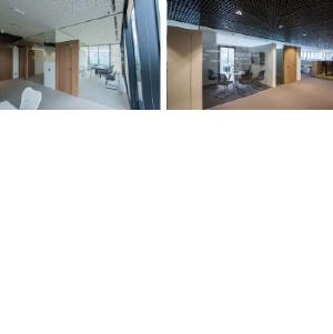 Дерево и стекло: NAYADA оформила офис крупной промышленной компании