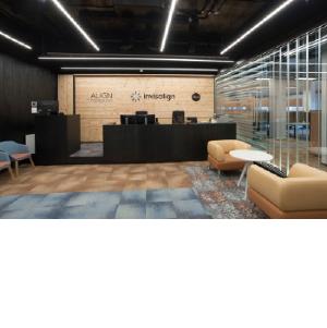 Рациональное офисное пространство: NAYADA для Align Technology