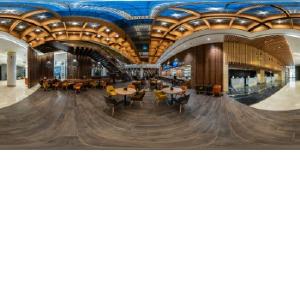Компания NAYADA добавила глянца и света атриуму в бизнес-центре «Новион»
