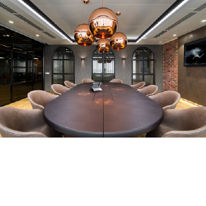 Эстетика стимпанка: офис для IT-компании Compass Plus