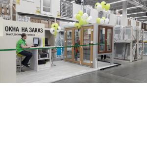 «Окна Deceuninck под заказ» в Леруа Мерлен в Санкт-Петербурге