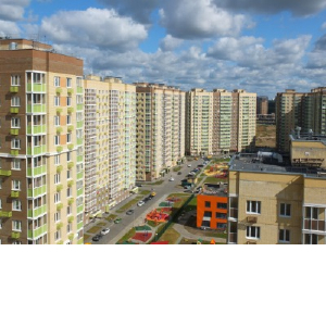 Окна Deceuninck в новом жилом микрорайоне города Люберцы