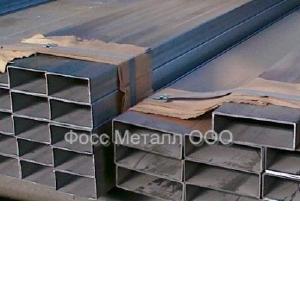 Трубы нержавеющие прямоугольные матовые AISI 316L/AISI 316Ti