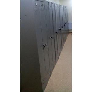 Металлические гардеробные шкафы LS 21-60 для пожарной части №11 в г. Дзержинск, Нижегородской области