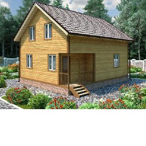 Дома из бревна от компании «Костромские дома»