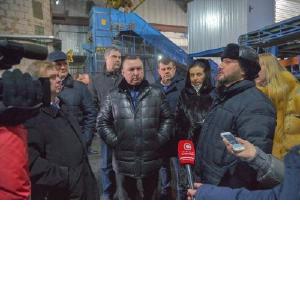 В Нижневартовске продолжается работа по внедрению новой системы обращения с твердыми коммунальными отходами