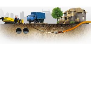Мы сдерживаем рост цен на ГНБ горизонтально-направленное и ГШБ шнековое бурение и проколы, Микротоннелирование для труб: cталь, ж/б, Хобас, ПНД диаметром до 2, 5м. Электромонтаж 0, 4-10-35-110кВ, НВК,