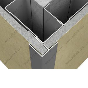 Декоративный алюминиевый профиль