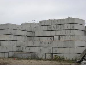 Блоки фундаментные ФБС.Все размеры.Наличие.Доставка.