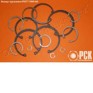 Кольца пружинные по ГОСТ из стали 65Г, 60С2А, нержавейки.