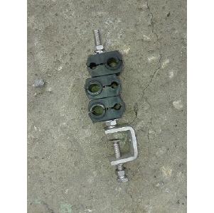 Крепёж кабеля и фидера со струбциной QJF-06-7-14