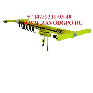 Кран мостовой электрический опорный (кран-балка опорная). Производство